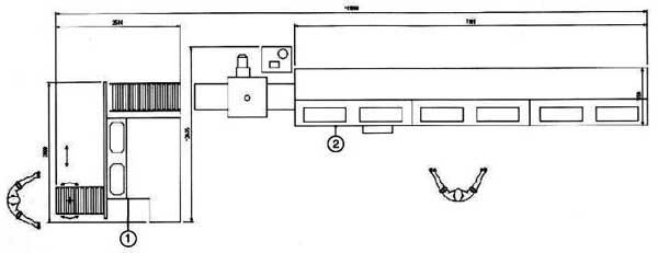 1 – Шипорезный станок JF 150A